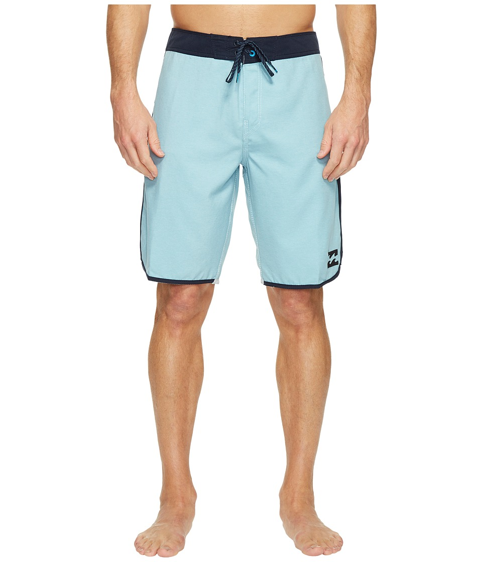 Billabong - 73 Originals Boardshorts (Light Blue) Men's Swimwear