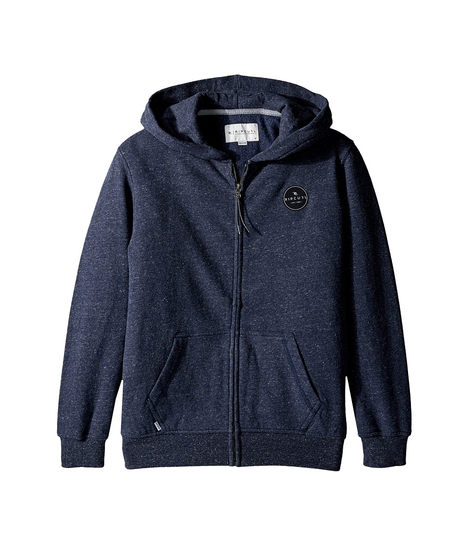 Rip Curl Kids - Surf Check Fleece (Big Kids) (Navy) Boy's Fleece