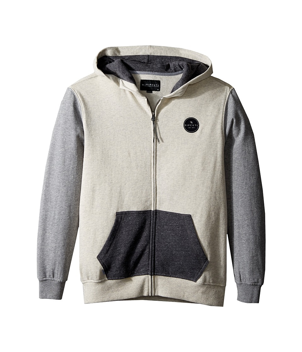 Rip Curl Kids - Surf Check Fleece (Big Kids) (Off-White) Boy's Fleece