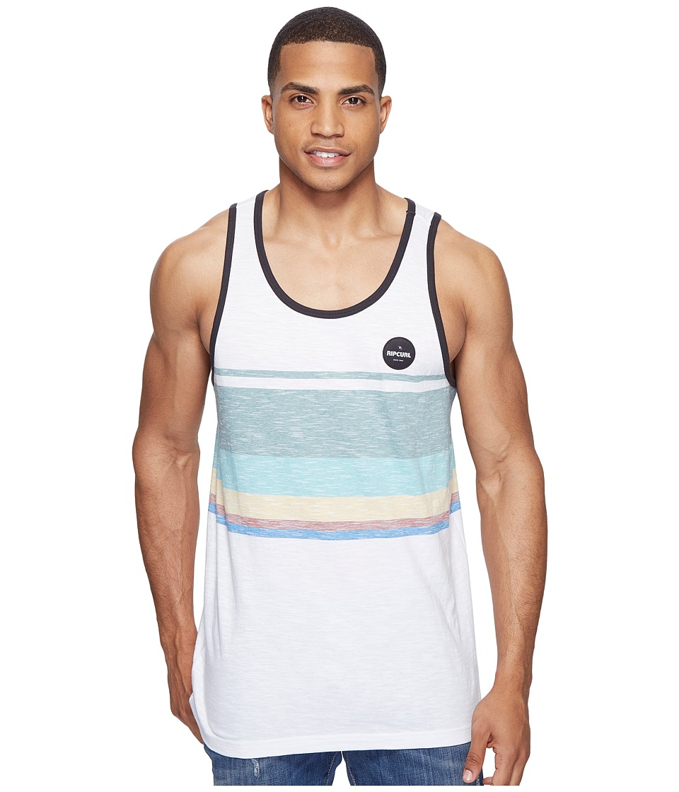 Rip Curl - Golden Hour Tank Top (Off-White) Men's Sleeveless