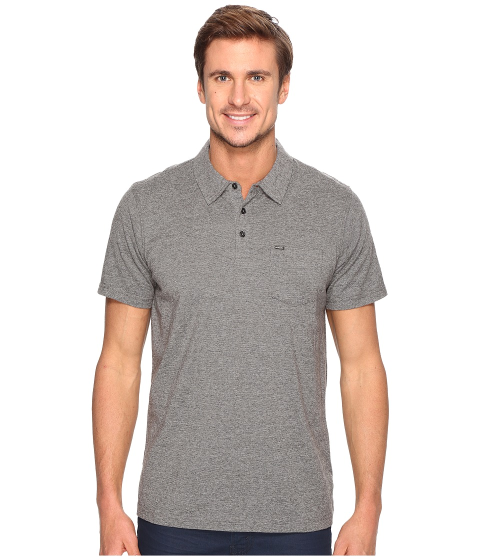 Rip Curl - Links Polo (Charcoal) Men's Clothing