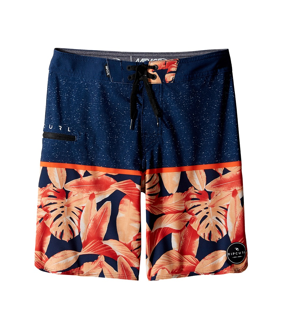 Rip Curl Kids - Mirage Split Boardshorts (Big Kids) (Navy) Boy's Swimwear