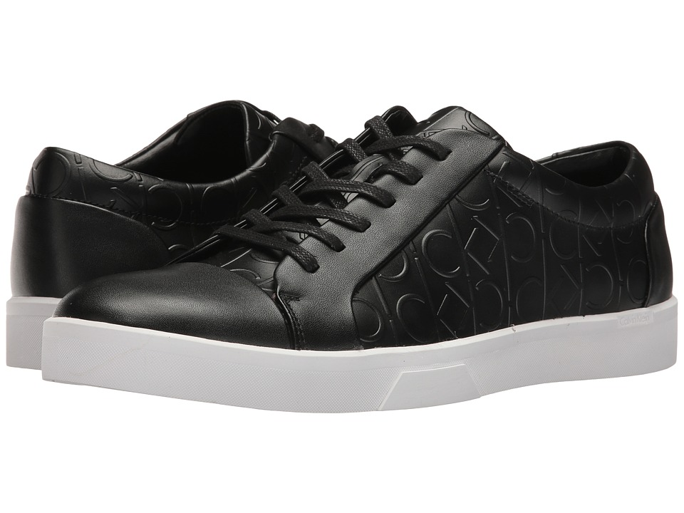 Calvin Klein - Igor (Black) Men's Lace up casual Shoes