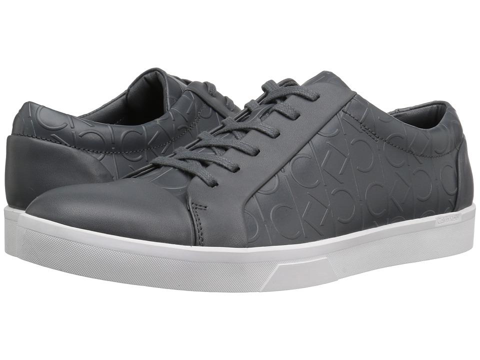 Calvin Klein - Igor (Grey) Men's Lace up casual Shoes