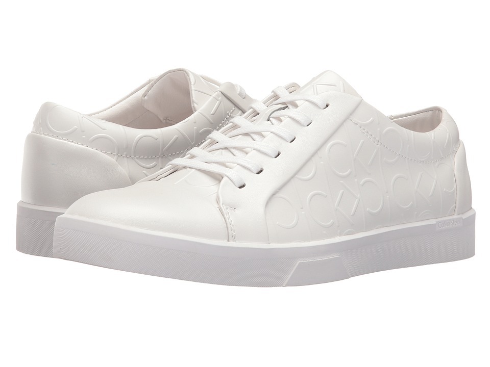 Calvin Klein - Igor (White) Men's Lace up casual Shoes