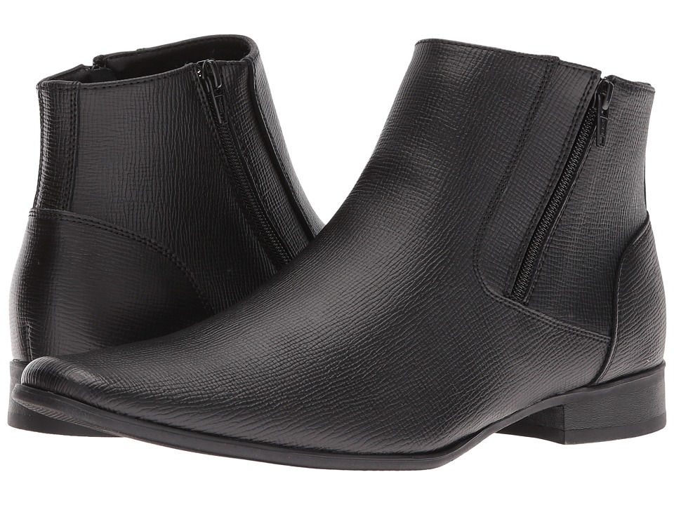 Calvin Klein - Beck (Black) Men's Zip Boots