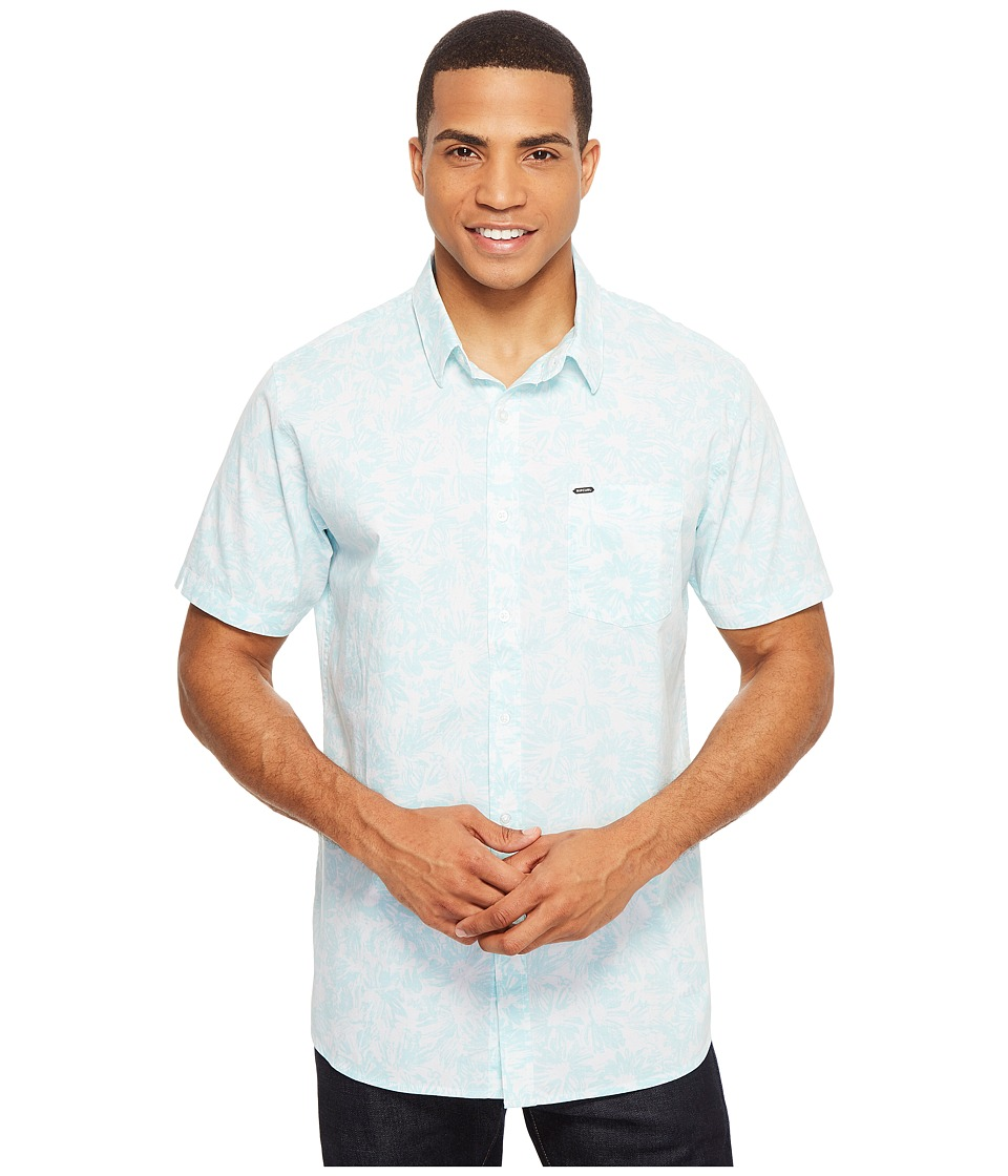 Rip Curl - Yuki Short Sleeve Shirt (White) Men's Clothing