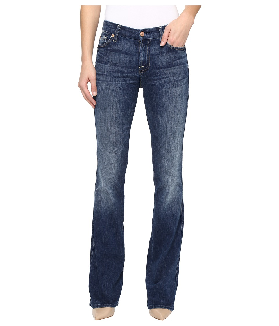 7 For All Mankind - Kimmie Boot in Rich Coastal Blue (Rich Coastal Blue) Women's Jeans