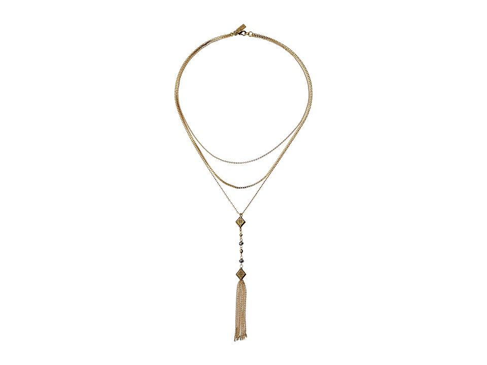 Vanessa Mooney - The Mia Necklace Necklace (Gold) Necklace