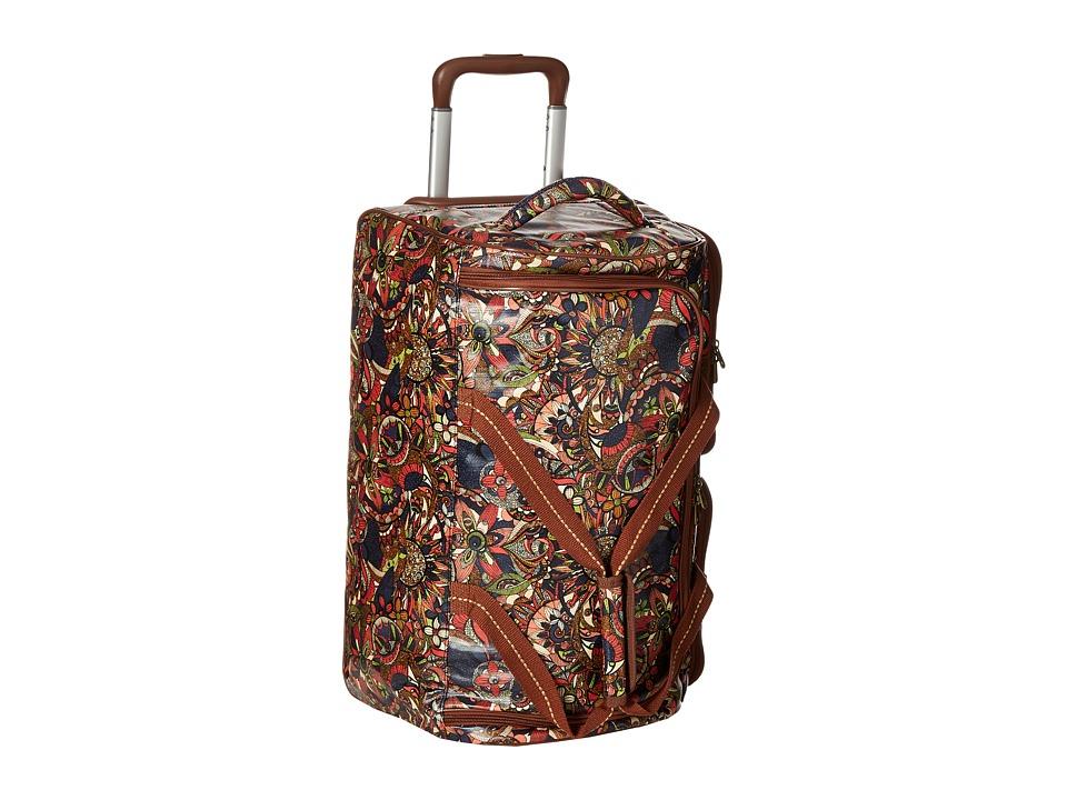 Sakroots - Artist Circle Rolling Duffle (Midnight Spirit Desert) Duffel Bags