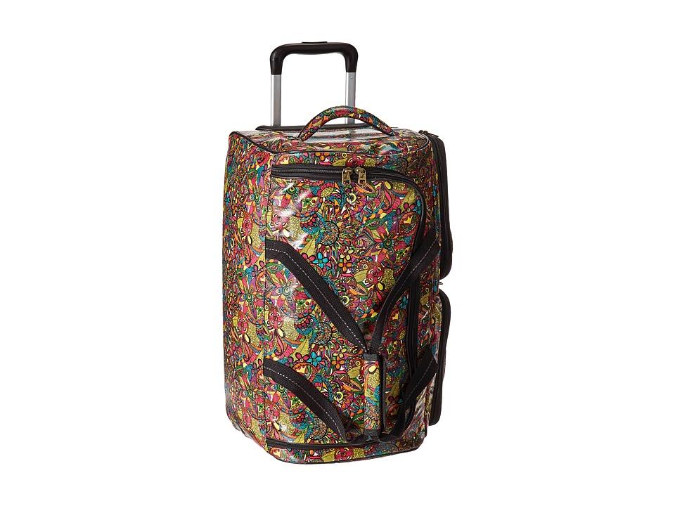 Sakroots - Artist Circle Rolling Duffle (Rainbow Spirit Desert) Duffel Bags
