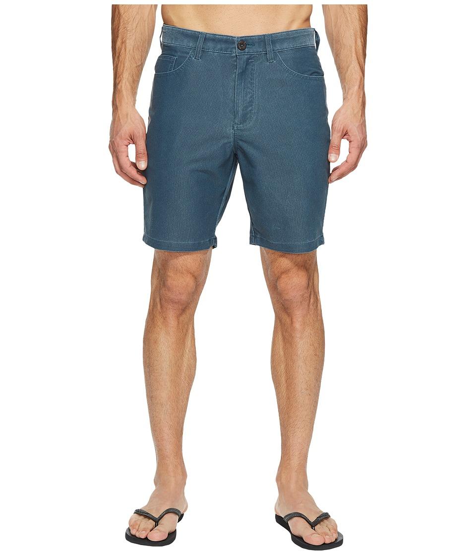 Billabong - Outsider X Surf Cord Walkshorts (Dark Slate) Men's Shorts