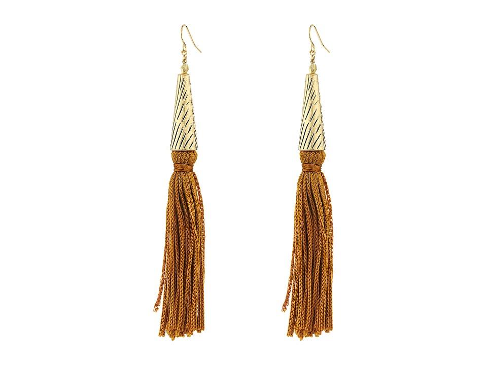 Vanessa Mooney - The Claudette Earrings (Gold) Earring