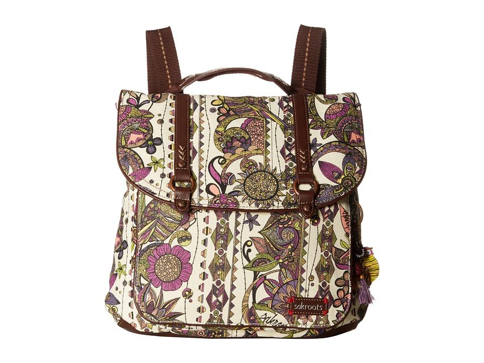 Sakroots - Convertible Backpack (Ivory Spirit Desert) Backpack Bags