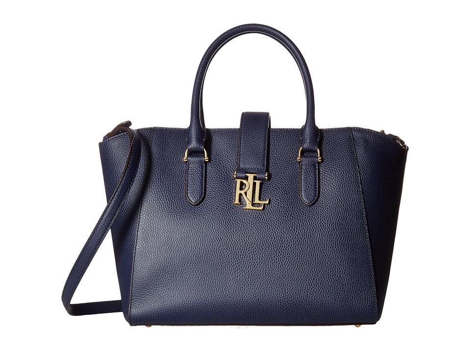 LAUREN Ralph Lauren - Carrington Bethany Shopper (Marine) Handbags
