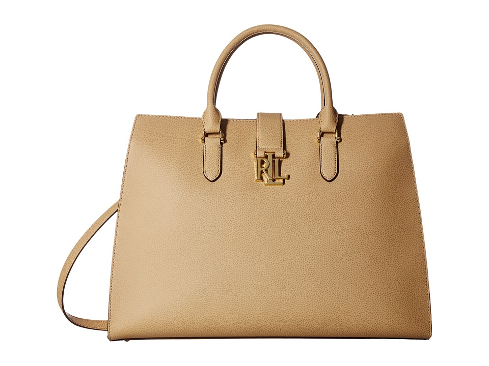 LAUREN Ralph Lauren - Carrington Bridgitte Tote (Camel) Tote Handbags