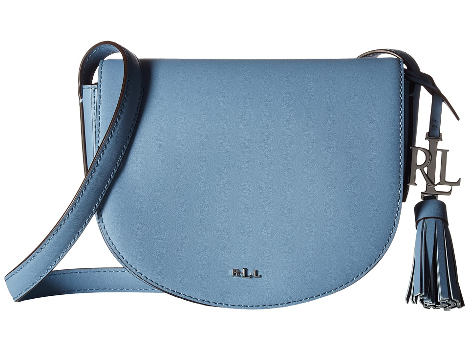 LAUREN Ralph Lauren - Dryden Caley Mini Saddle (Blue Mist/Marine) Handbags