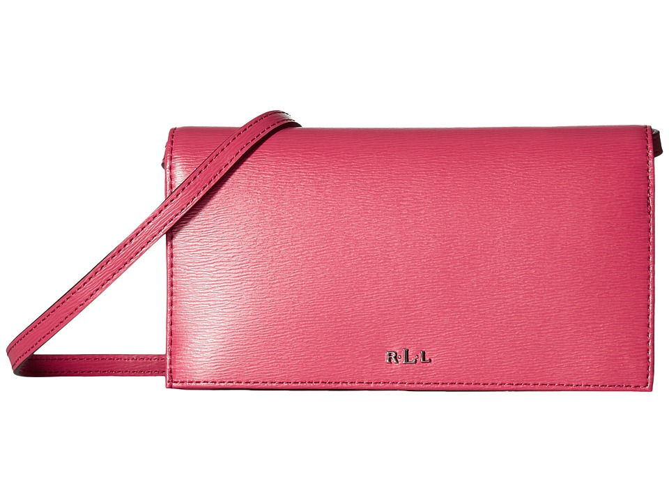LAUREN Ralph Lauren - Newbury Kaelyn Crossbody (Rouge) Cross Body Handbags