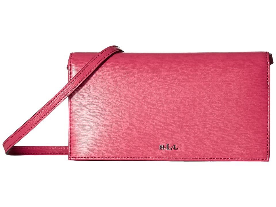 LAUREN Ralph Lauren - Newbury Kaelyn Crossbody (Rouge) Cross Body Handbags