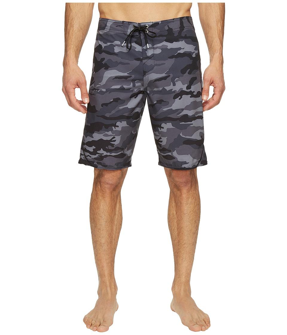 O'Neill - Hyperfreak S-Seam Superfreak Series Boardshorts (Black/Camo) Men's Swimwear