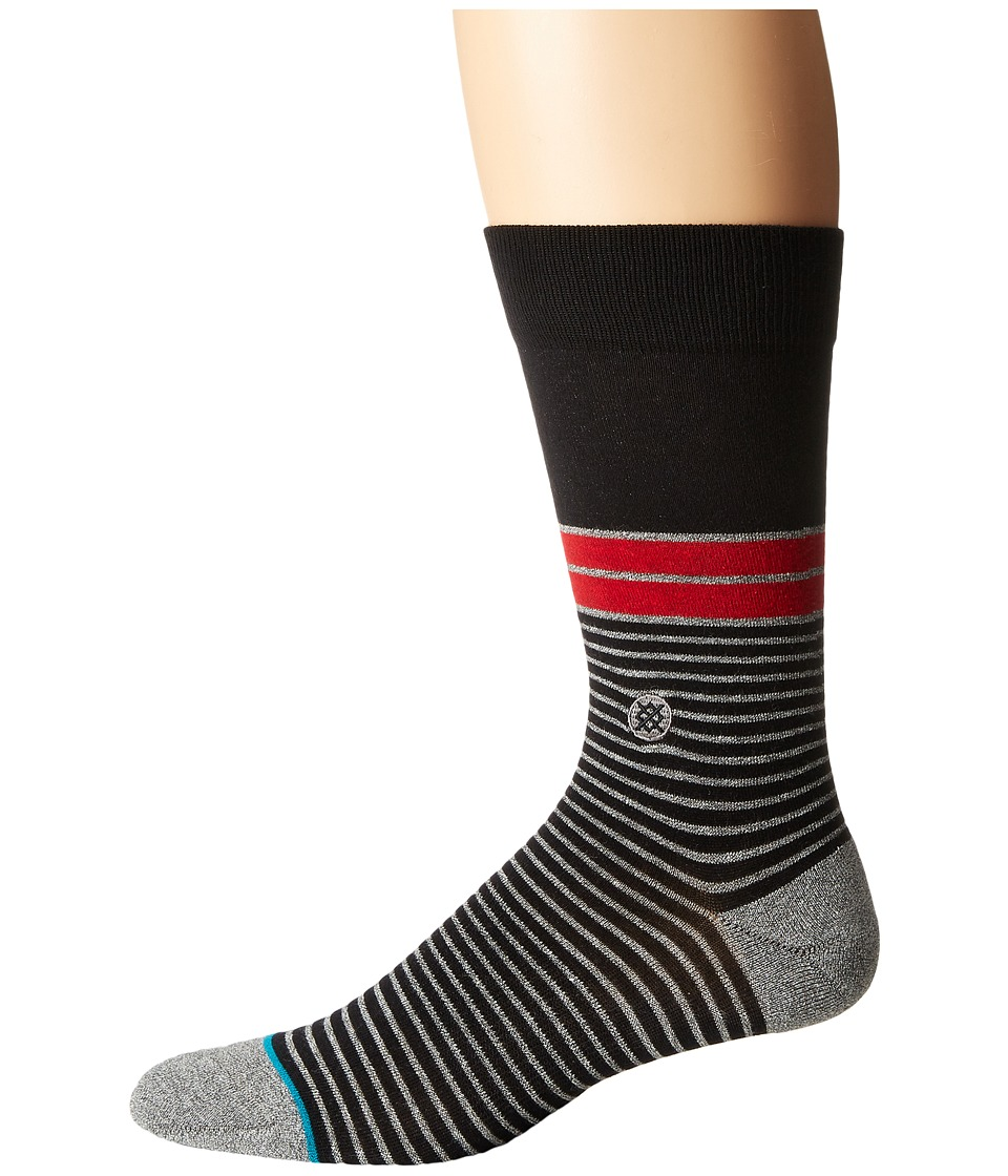 Stance - San Lucan (Black) Men's Crew Cut Socks Shoes