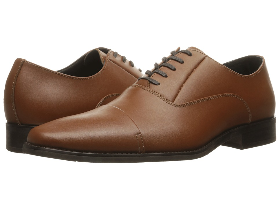 Calvin Klein - Radley (British Tan Leather) Men's Lace up casual Shoes