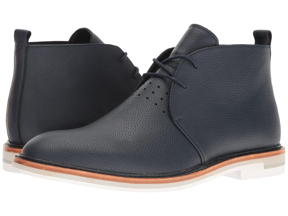 Calvin Klein - Jonas (Dark Navy 1) Men's Lace-up Boots