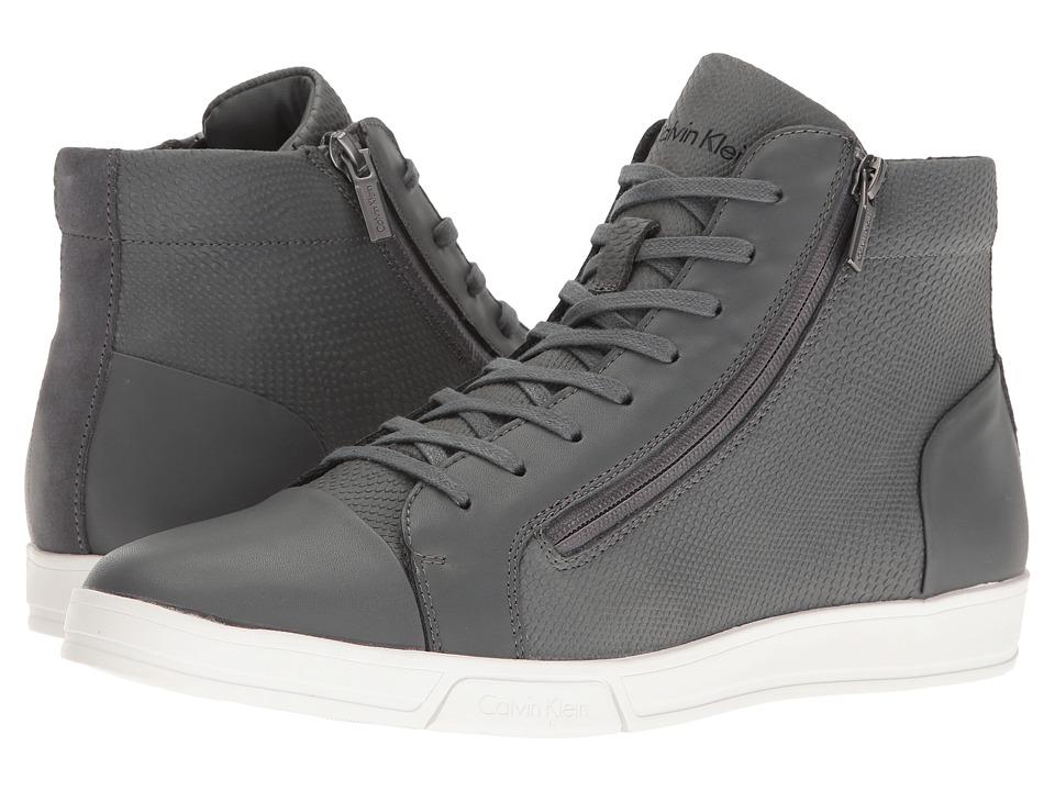 Calvin Klein - Berke (Grey) Men's Lace-up Boots