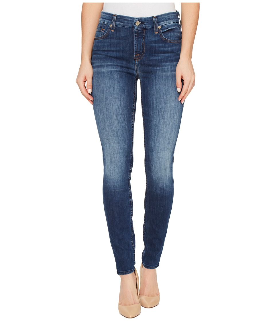 7 For All Mankind - The Ankle Skinny in Heritage Feather Weight (Heritage Feather Weight) Women's Jeans