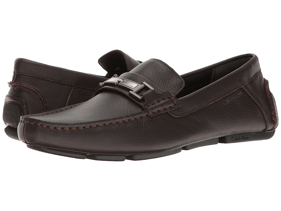 Calvin Klein - Magnus (Dark Brown) Men's Shoes