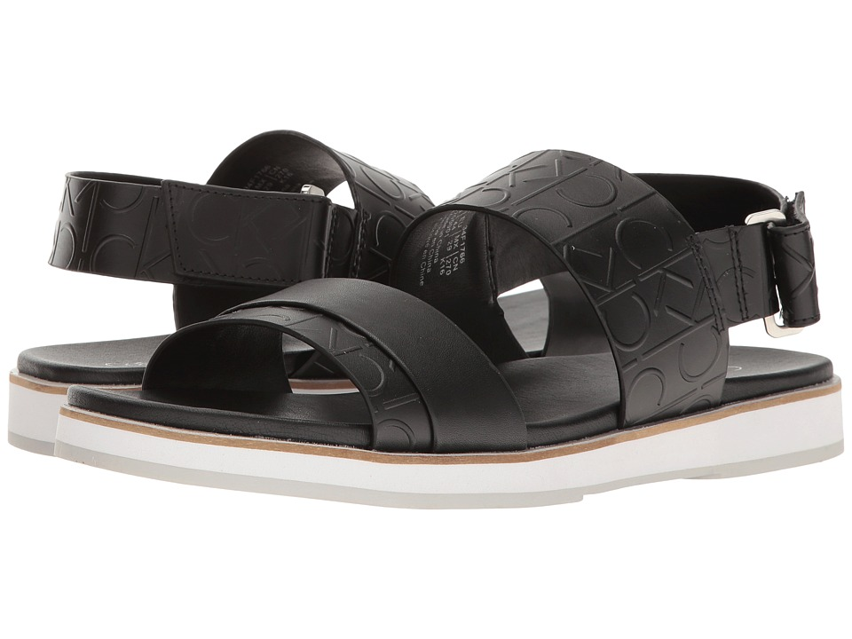 Calvin Klein - Dex (Black) Men's Sandals