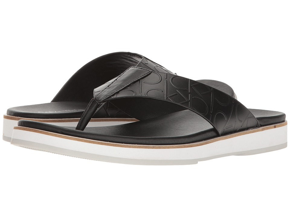 Calvin Klein - Deano (Black) Men's Sandals