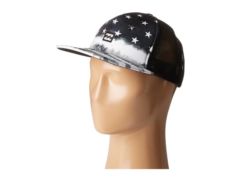 Billabong - Riot Trucker Hat (Black/White) Caps