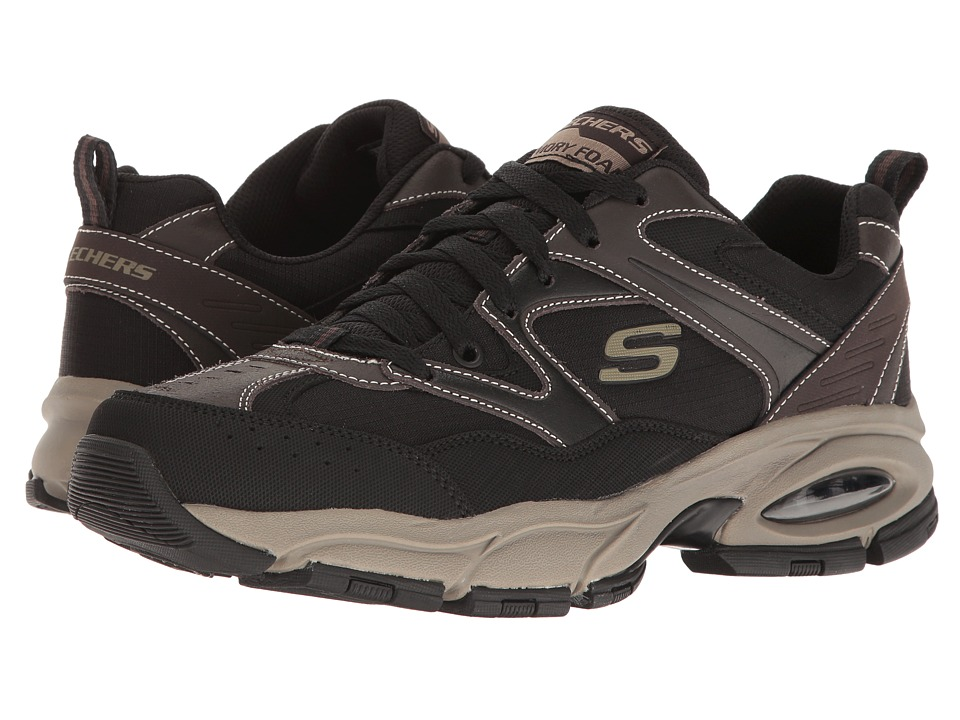 SKECHERS - Vigor Air (Brown/Black) Men's Lace up casual Shoes