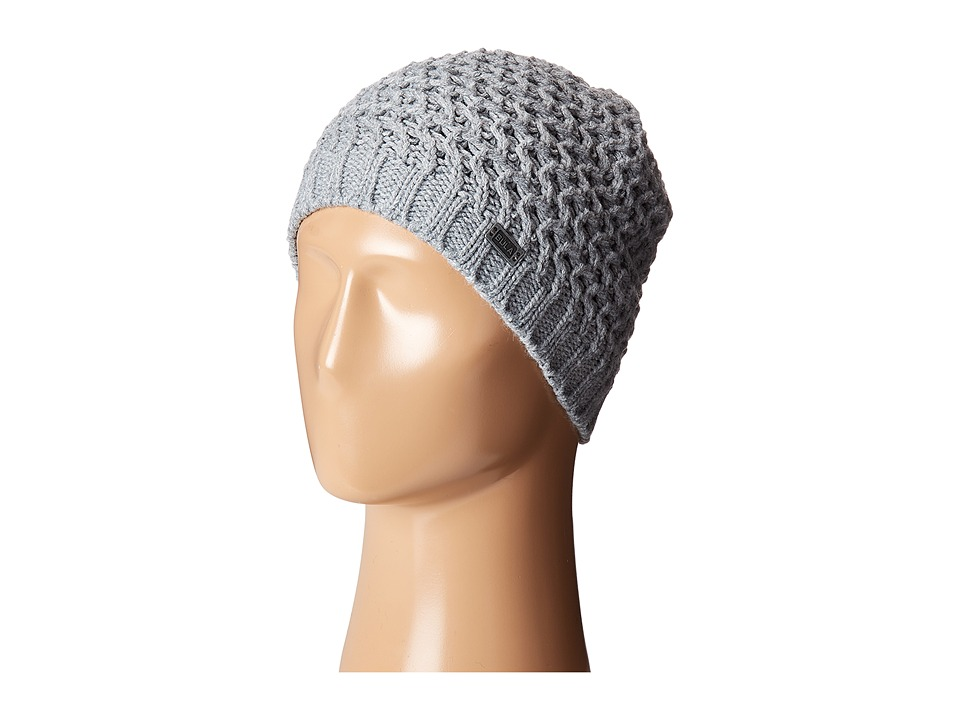 BULA - Fishbone Beanie (Heather Medium Grey Combo) Beanies