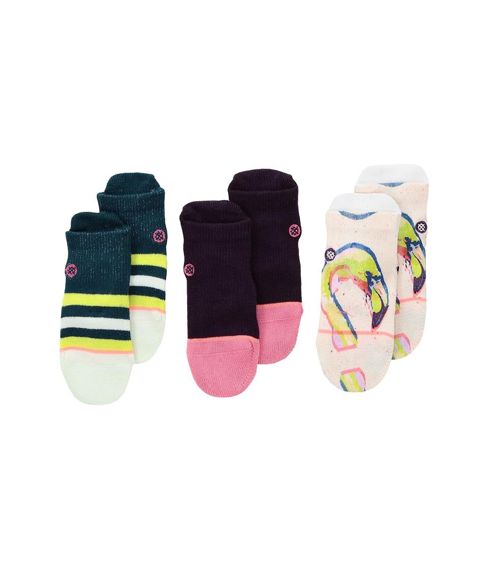 Stance - Bird Brain Box Set (Infant) (Multi) Women's Crew Cut Socks Shoes
