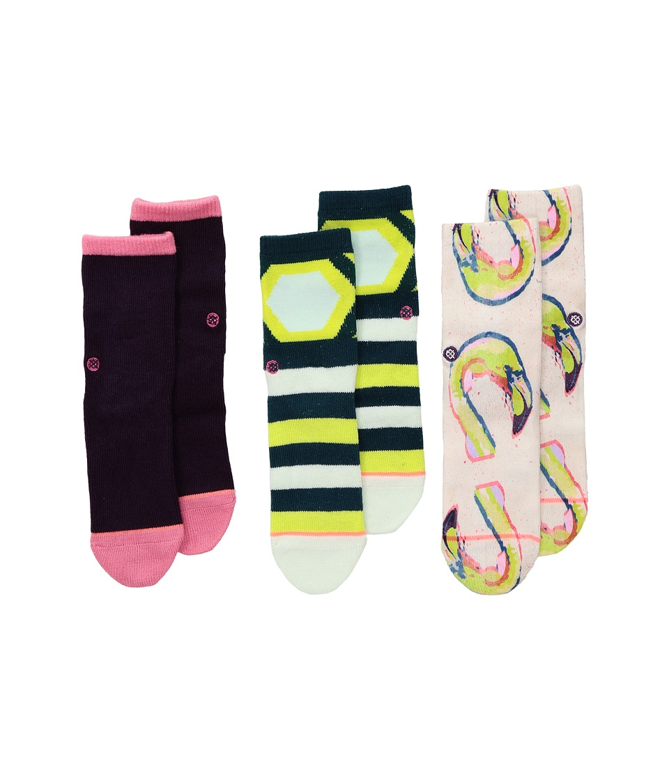 Stance - Bird Brain Box Set (Infant/Toddler) (Multi) Women's Crew Cut Socks Shoes