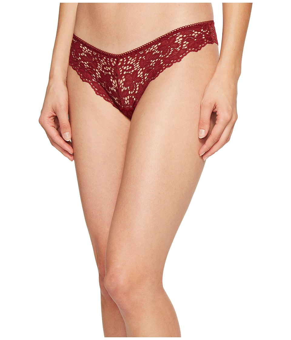 DKNY Intimates - Classic Lace Thong (Sienna) Women's Underwear