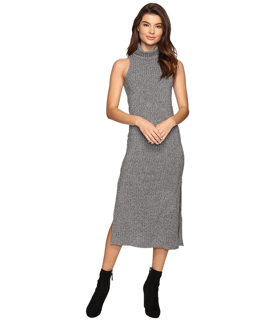 Angie - Sleeveless Sweater Dress (Black) Women's Dress