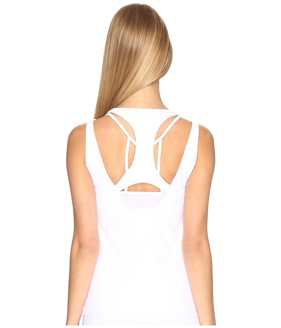 ALO - Absolute Tank Top (White) Women's Sleeveless