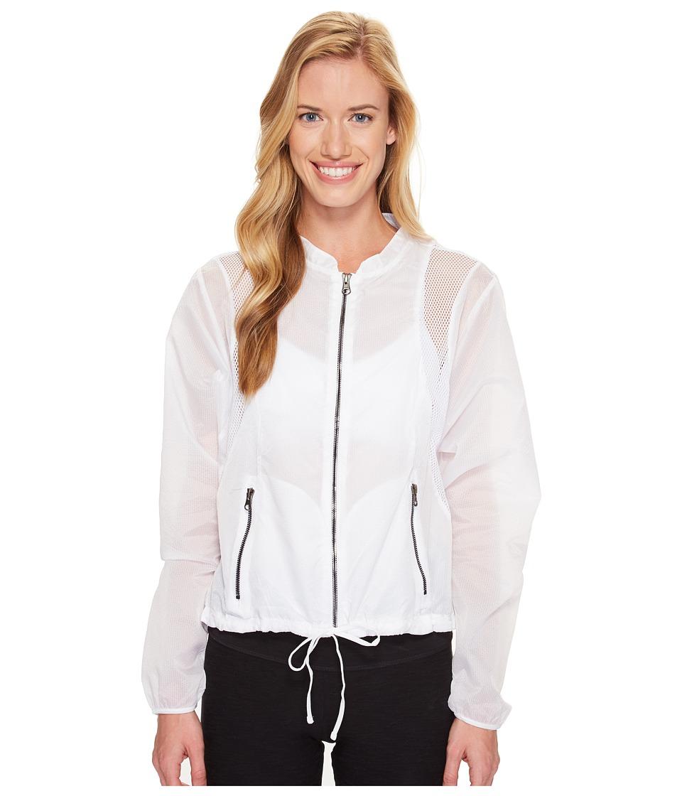 ALO - Sunset Jacket (White) Women's Coat