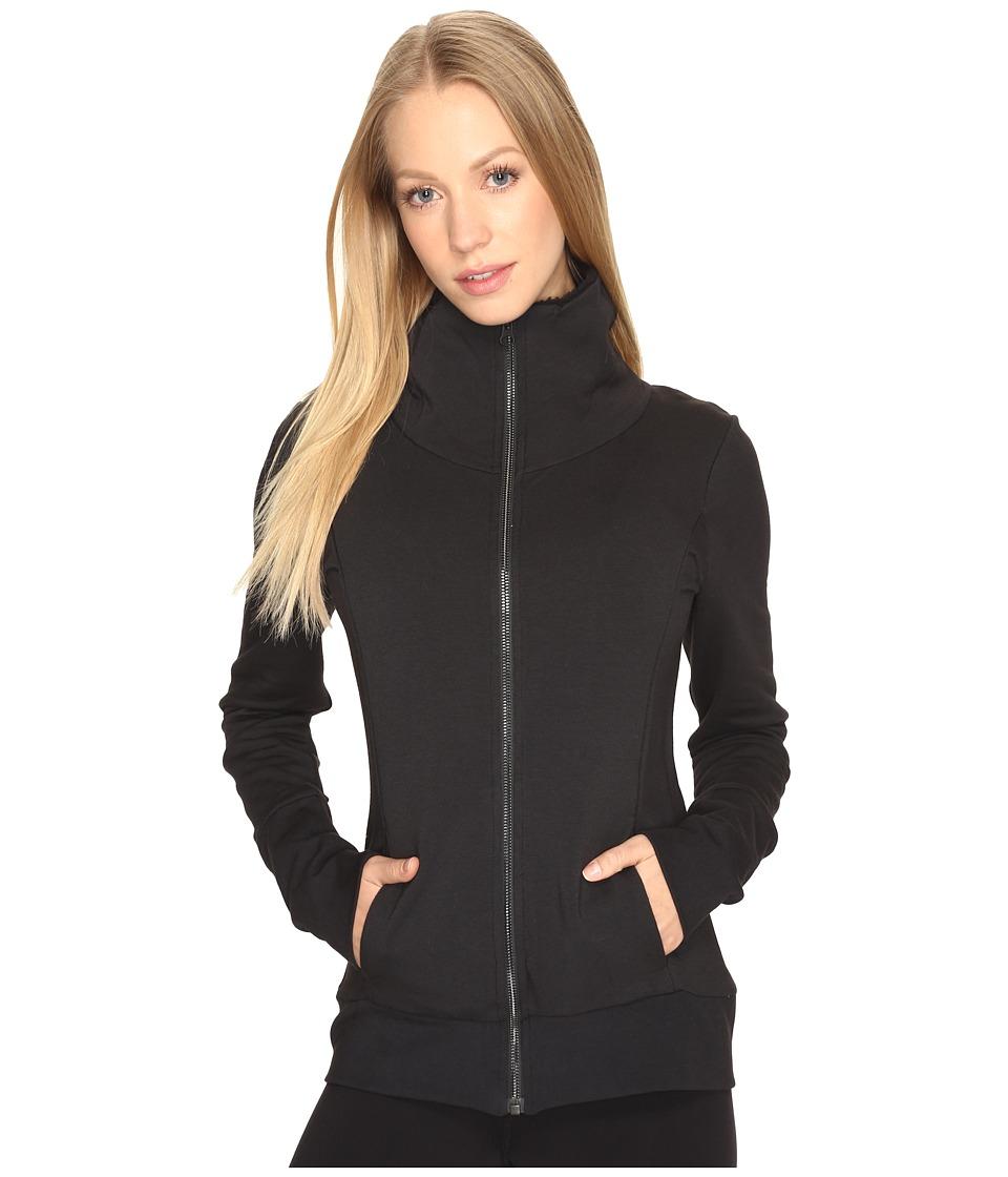 ALO - Comfort Jacket (Black) Women's Coat