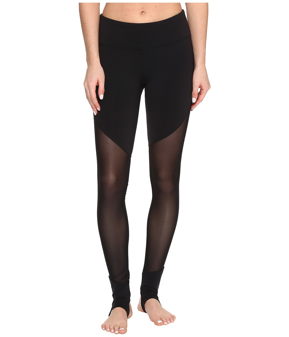 ALO - Show Off Leggings (Black) Women's Casual Pants