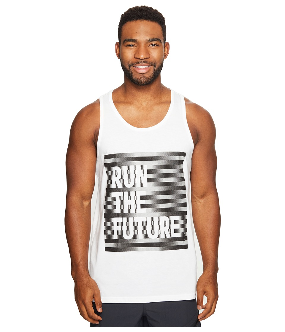 adidas - Run The Future Tank Top (White/Reflective Silver/Black) Men's T Shirt