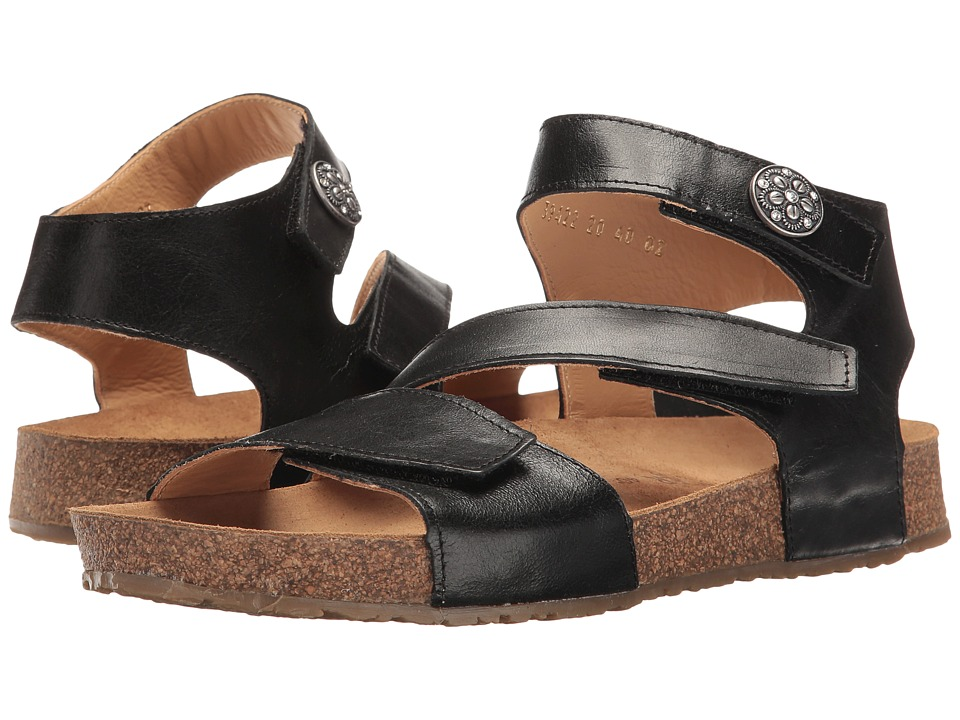 Haflinger - Lori (Black) Women's Sandals