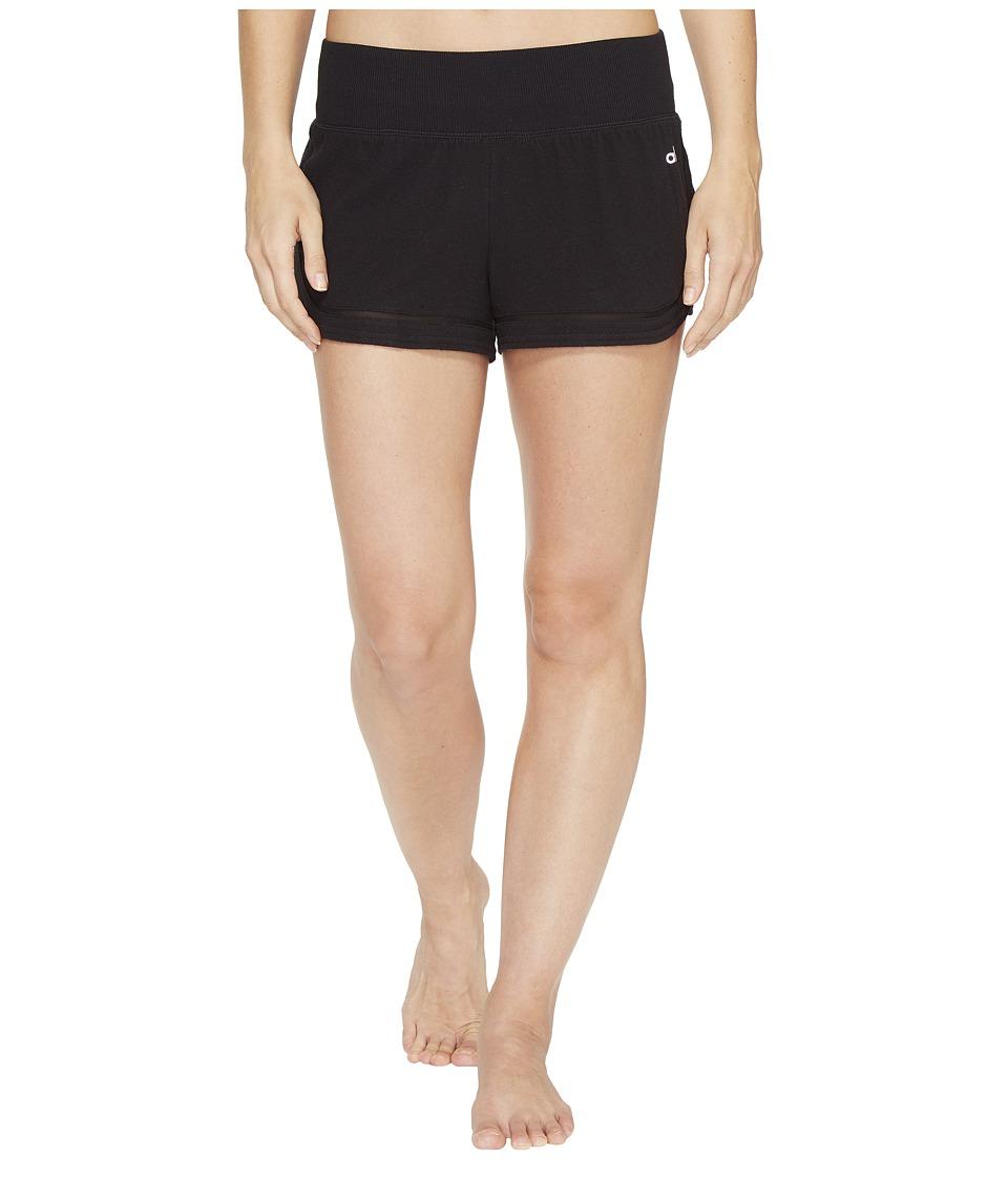 ALO - Charm Shorts (Black) Women's Shorts