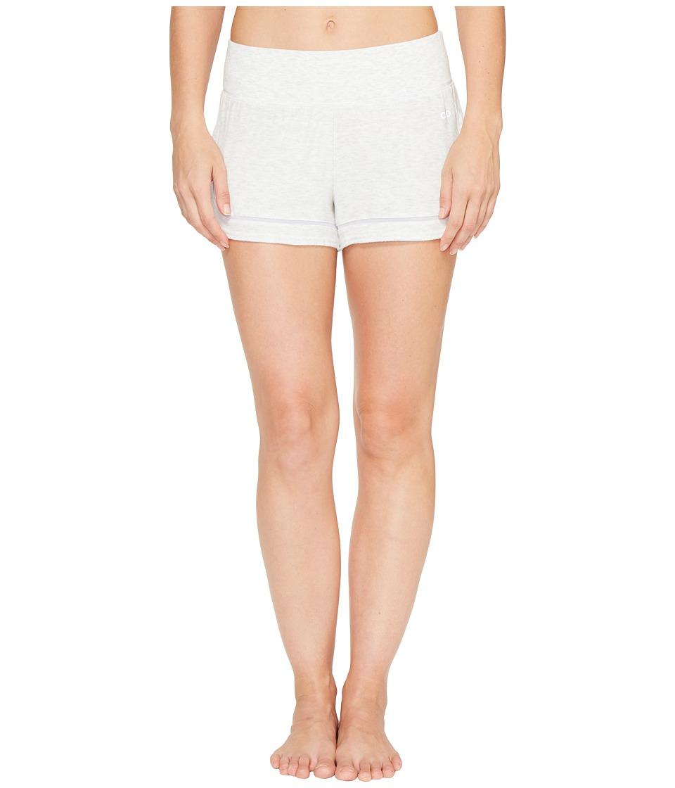 ALO - Charm Shorts (White Heather) Women's Shorts