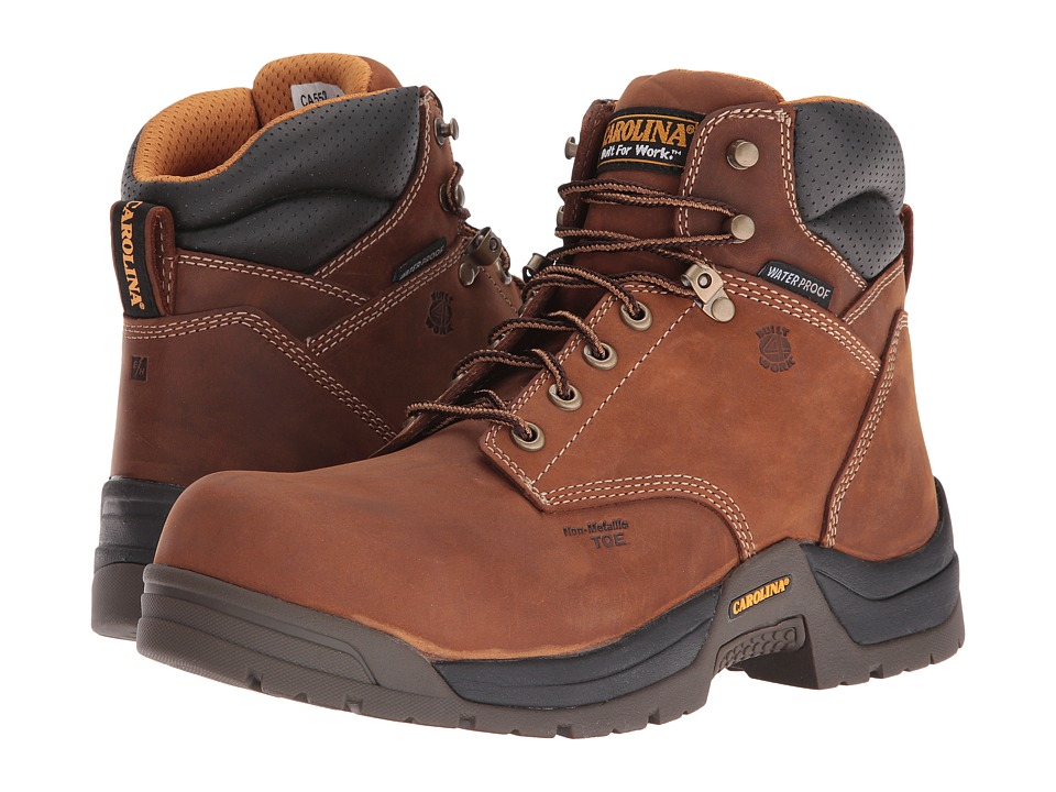 Carolina - Butch Lo Waterproof Composite Toe CA5520 (Copper Crazyhorse) Men's Work Boots