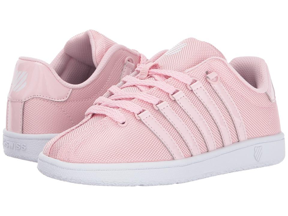 K-Swiss Kids - Classic VN T (Little Kid) (Potpourri/White) Girl's Shoes