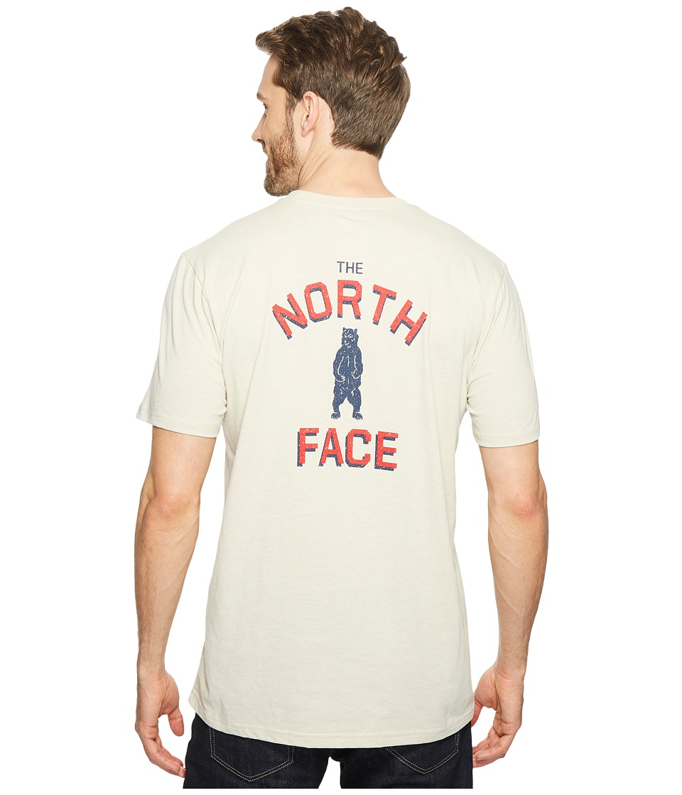 The North Face - Short Sleeve Americana Pocket Tee (TNF Oatmeal Heather (Prior Season)) Men's T Shirt